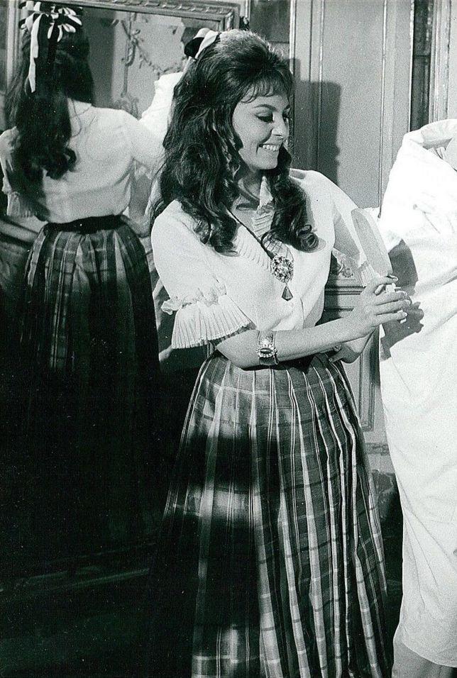 1960's Pure Beautiful  Actress Miichele Mercier