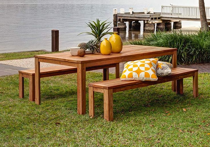 3pce palmer 2 2 x palmer bench the outdoor for Outdoor furniture specialists