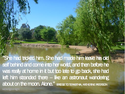 the theme of magical kingdom in the woods in bridge to terabithia by katherine paterson A short summary of katherine paterson's bridge to terabithia this summary & themes video & lesson , bridge to terabithia summary a magical forest kingdom.