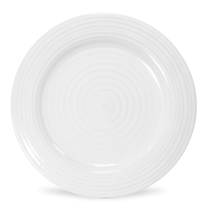 """Sophie Conran for Portmeirion White Salad Plate 8"""". Product code: CPW76801. Call 905·885·9250."""