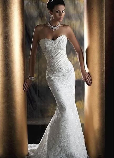 Свадебное платье облегающие