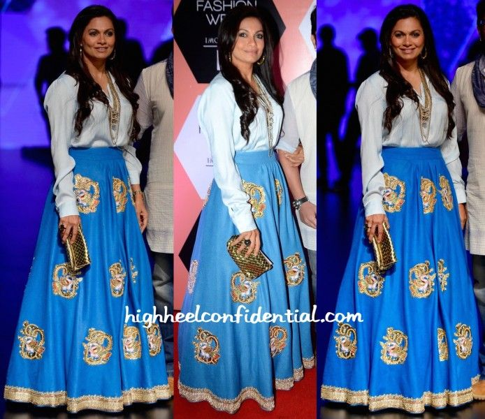 Maria Goretti In Neeta Lulla At Lakme Fashion Week Summer Resort 2016