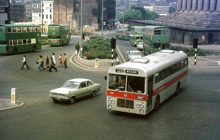 Liverpool, Lime Street 1974