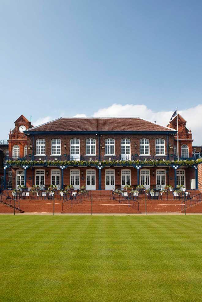 Queens Club, London: Wedding Venues Near The Wimbledon Tennis Championships