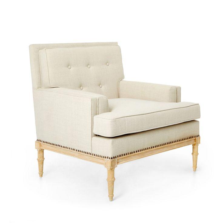 Davis Club Chair, Natural - Bungalow 5