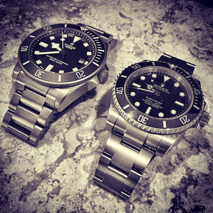 Relatives #watchesofinstagram #rolex #submariner #tudor #pelagos #siblings by docmcqueen #rolex #submariner