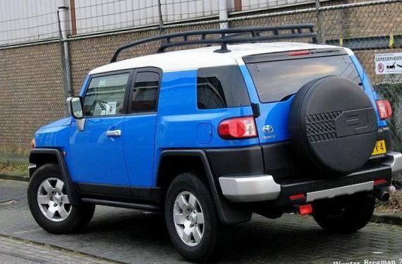 FJ Cruiser Toyota concept - http://autotras.com