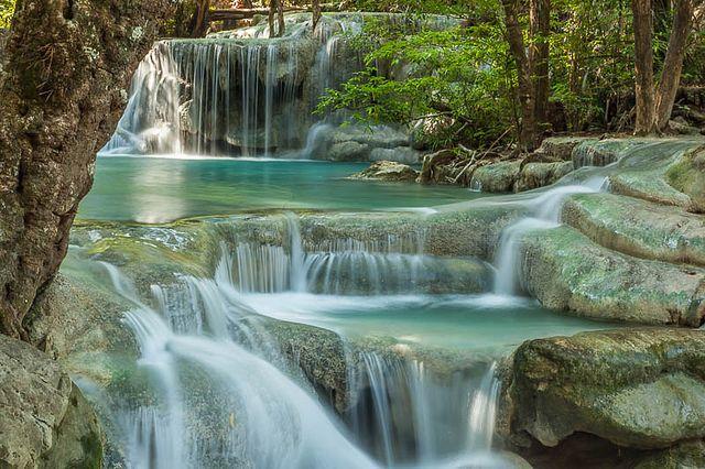 The Erawan National Park In 2019 Waterfall Park Erawan