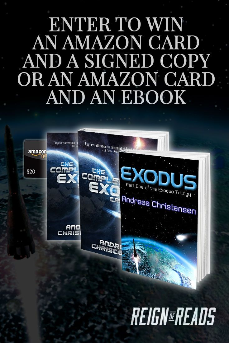 Win Signed Copies, Ebooks And A $20 Amazon Gift Card From Bestselling  Author Andreas Christensen