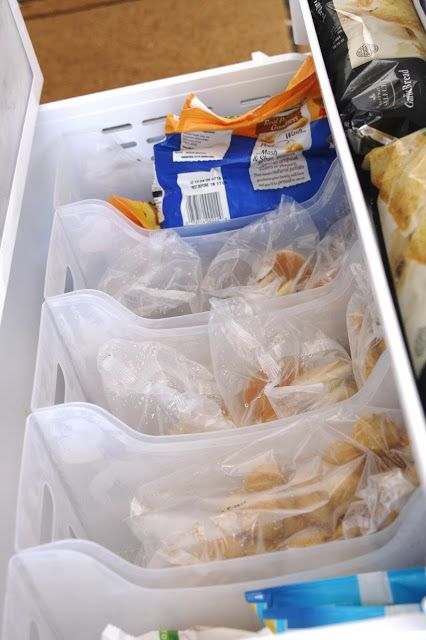 simply organized: Organized Freezer Drawers