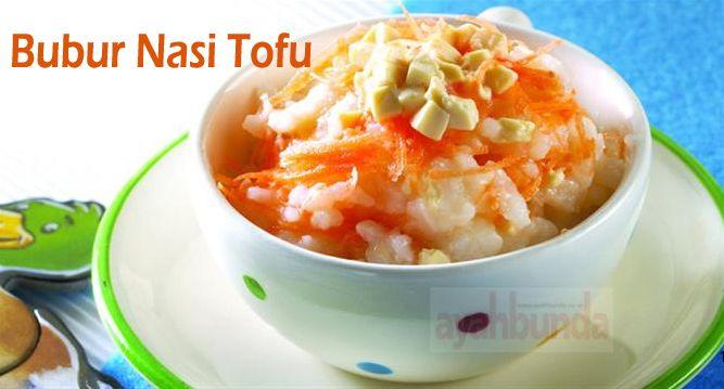 Bubur Nasi Tofu :: Rice Porridge Tofu :: Klik link di atas untuk mengetahui resep bubur nasi tofu