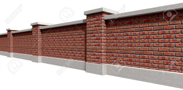 Face Brick Boundary Wall Design