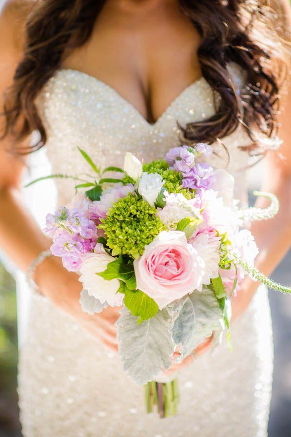 Enchanted forest wedding bouquet idea (Julie Nicole Photography)