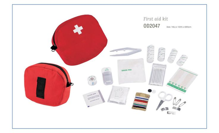 A bigger First Aid Kit - more substantial than the key ring first aid kit and more opportunity to brand and message your consumer. A First Aid kit has the added value of really being appreciated and useful. Call us to get your branded First Aid Kit out there now.