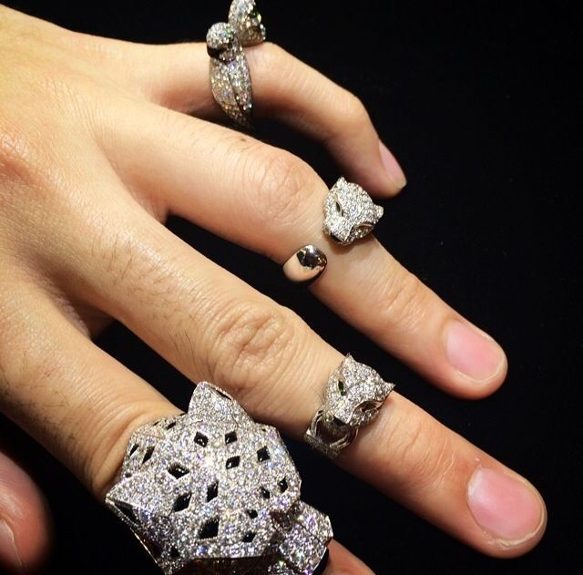 Cartier Panthere rings
