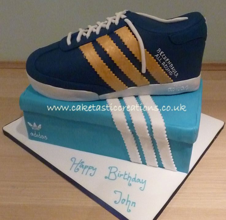 Adidas Trainer Cake Cakes Pinterest Adidas Trainers
