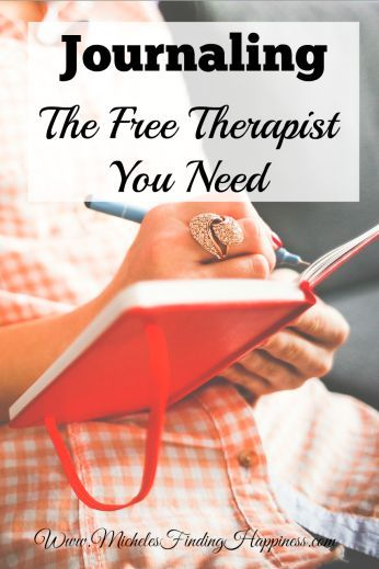 Journaling: The Free Therapist You Need - Michele's Finding Happiness