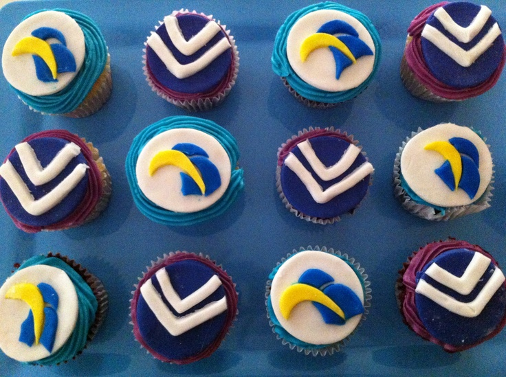 Western derby cupcakes! GO FREO!!