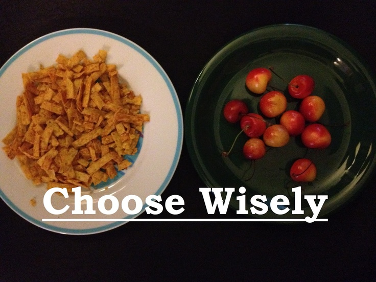 Motivation for Eating Well After Making Poor Choices!
