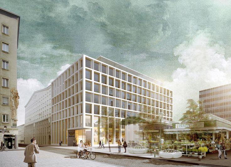 Schenker Salvi Weber Headquarter Post Wien