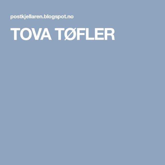 TOVA TØFLER