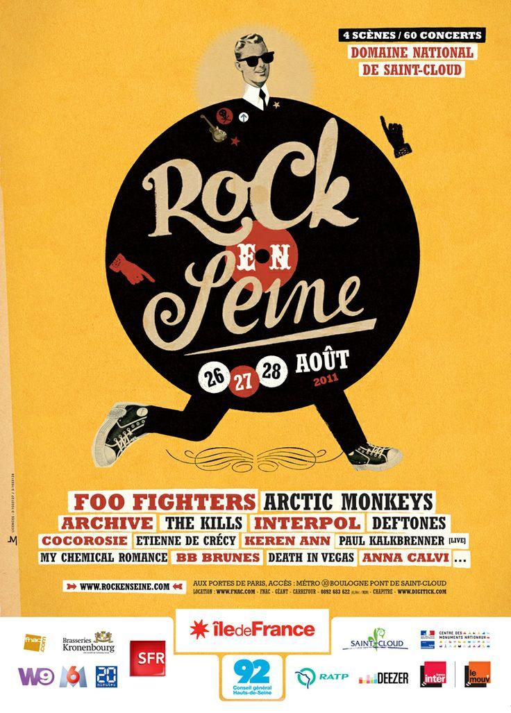 Foo Fighters / Artic Monkeys / Archive... - Rock En Seine Festival  -  Paris - 26, 27, 28 août 2011                                                                                                                                                                                 Plus
