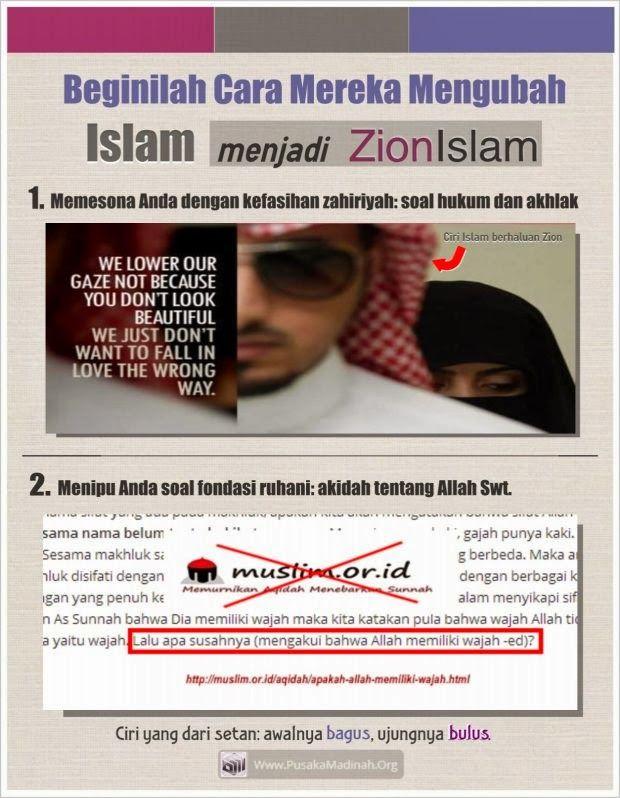 Jangan sampai Anda berhukum dan berakhlak secara Islam, tetapi berakidah secara kafir.