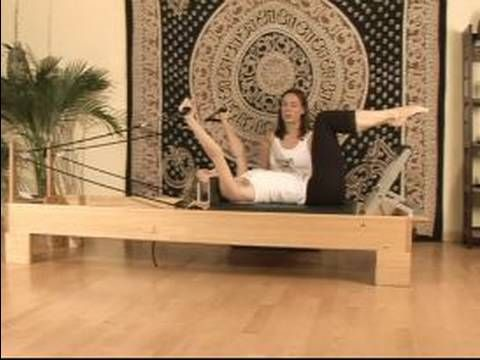 Pilates Reformer Exercises : Y Position Pilates Reformer Exercise