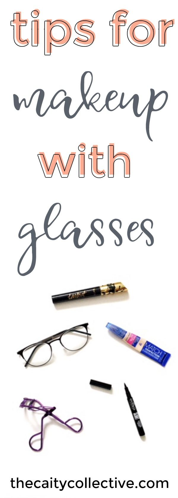 The best tips for making your making stand out under your glasses.  Tips for makeup with glasses   Makeup for glasses