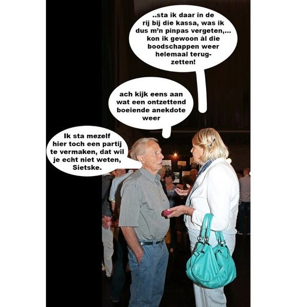 Anekdote - Kakhiel Tja, daar kan ik dan wel weer om lachen! ;-)
