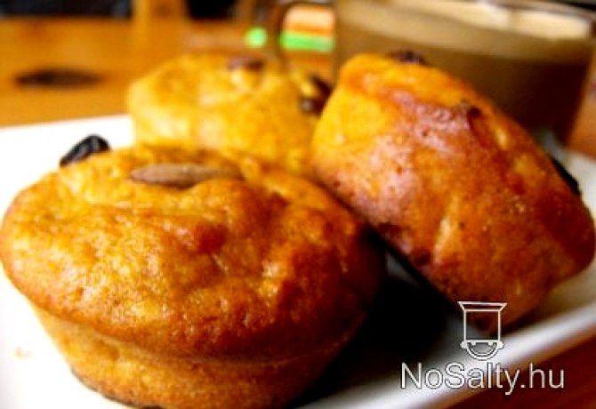 Sütőtökös-almás muffin
