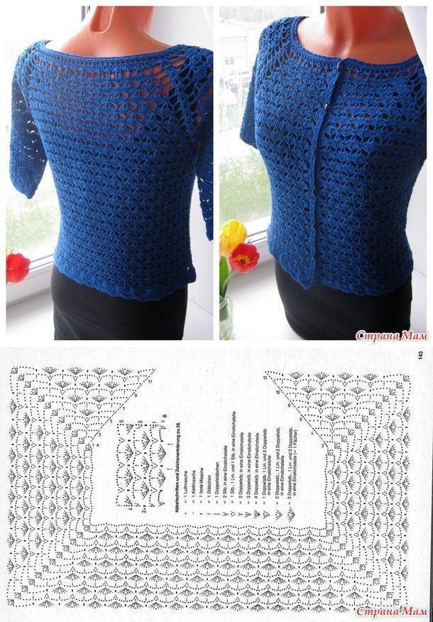 Жакет \ реглан крючком. - ВЯЗАНАЯ МОДА + ДЛЯ НЕМОДЕЛЬНЫХ ДАМ - Страна Мам [] # <br/> # #Crochet #Clothes, <br/> # #Crochet #Top, <br/> # #Cardigans, <br/> ##Album, Br /> # #Shirt, <br/> # #Tissue, <br/> # #Boleros, <br/> # #Crochet <br/>