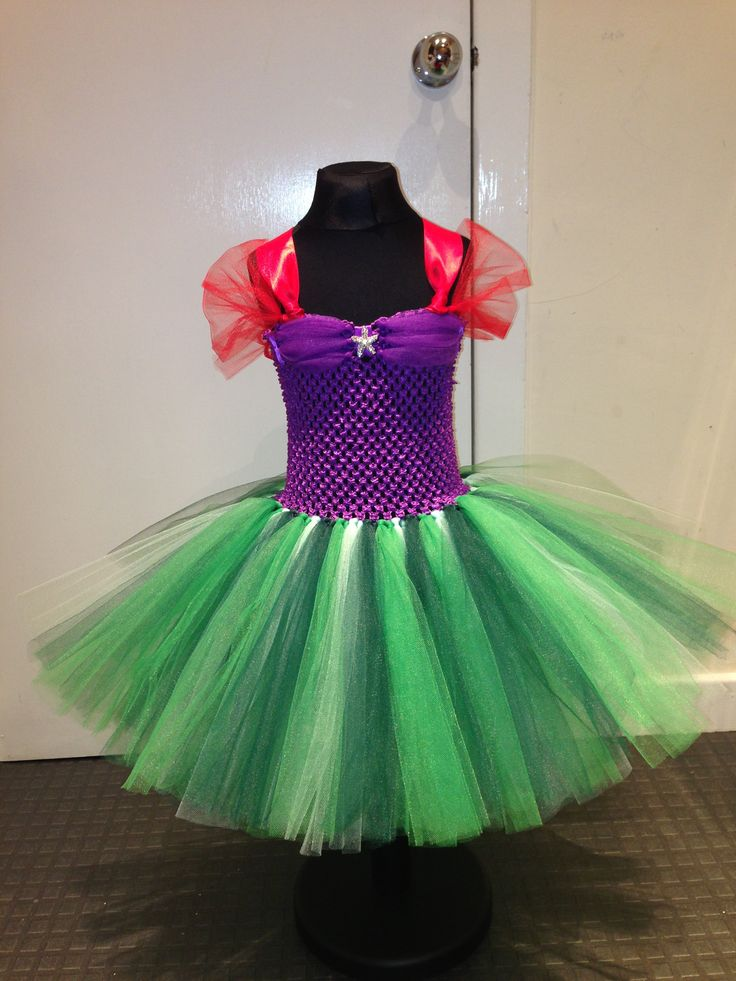 Ariel, The Little Mermaid tutu dress from Bella's Dream Dresses
