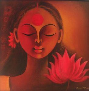 Indian Paintings - Buy Manisha Raju Painting: KAS-MRaju-002