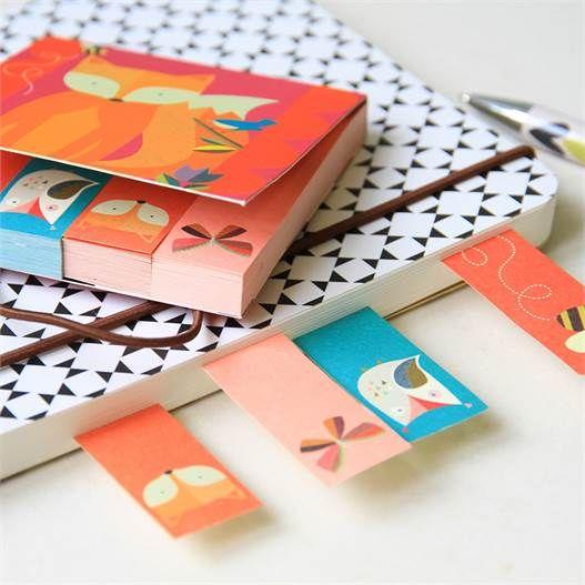 Caroline Gardner Pocket Sticky Notes - lovely product idea