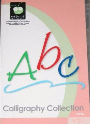 Calligraphy Collection - Cricut Font Cartridge