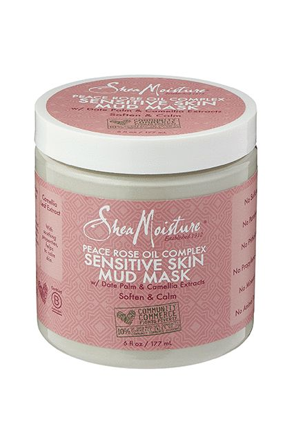 We're big fans of rose oil for our hair, and it's just as good on our skin. SheaMoisture Peace Rose Oil Complex Sensitive Skin Mud Mask, $14.99, available in November at Walgreens.  #refinery29 http://www.refinery29.com/2016/10/128000/walgreens-new-makeup-beauty-products-november#slide-4