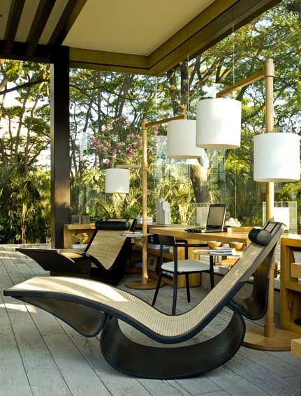 cadeiras que amo, ambiente informal, externo