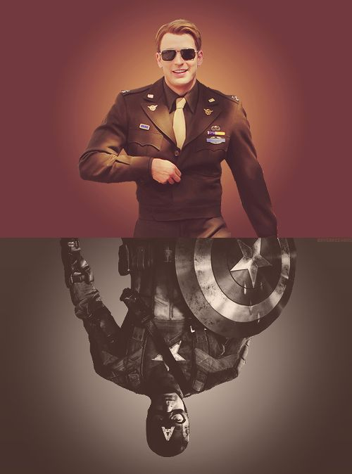 Steve Rogers (AKA Captain America.) Could not have picked a more perfect movie to re-watch on the 4th of July.