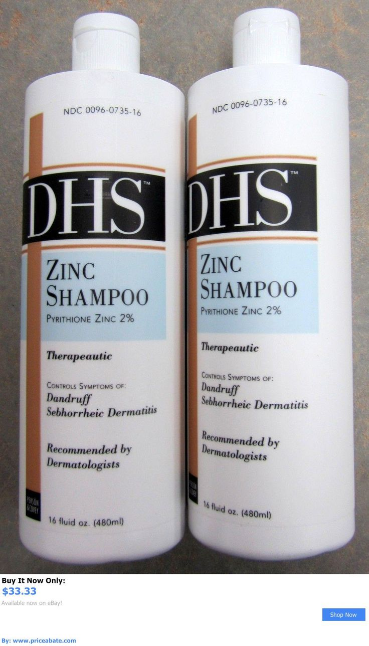 Hair Beauty: Dhs Zinc Shampoo For Daily Cleaning Of Hair And Scalp 16 Fl Oz ( 2 Pk ) Priority! BUY IT NOW ONLY: $33.33 #priceabateHairBeauty OR #priceabate