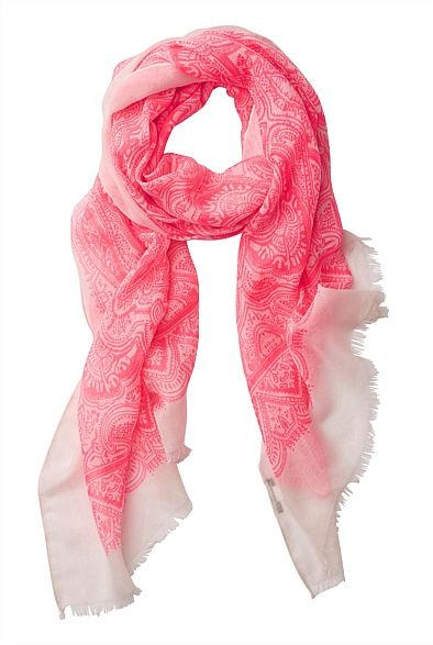 Latest Women's Accessories for Spring & Summer 2013 | Witchery Online - Batik Print Scarf  #witcherywishlist