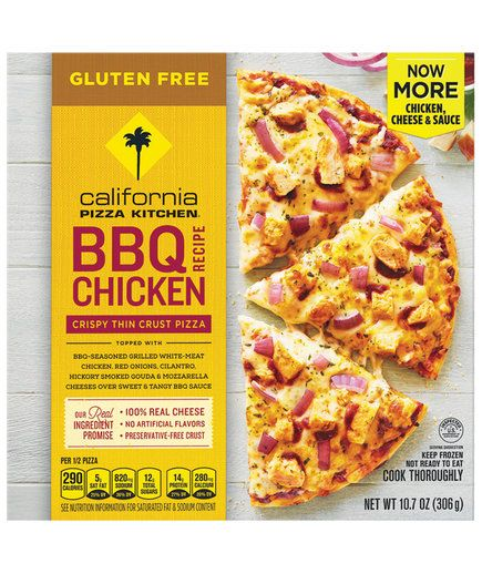 California Pizza Kitchen Gluten-Free BBQ Chicken | Our latest road test? Finding the best frozen pizzas out there. These will make you think you're at your local pizza joint.