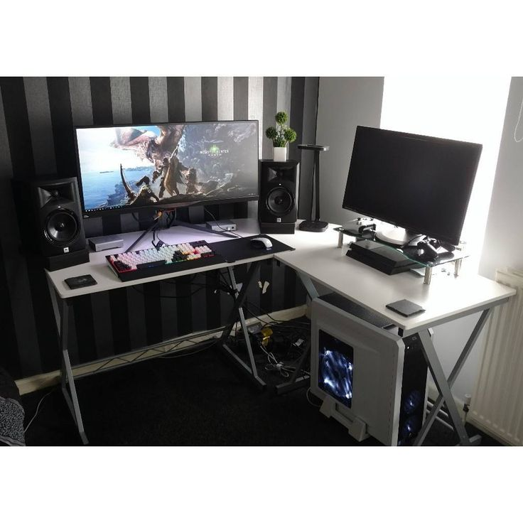 652 best Computer Setups images on Pinterest Custom pc desk