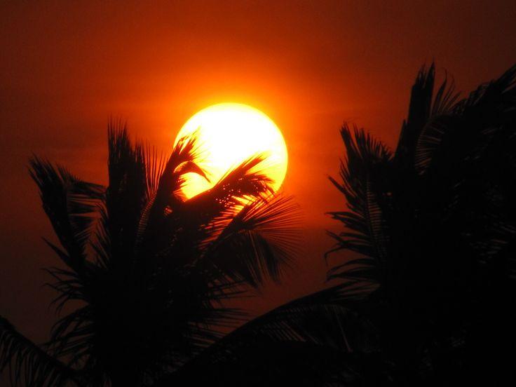 Beautiful sunset, Benin