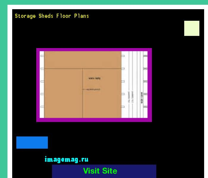 Storage Sheds Floor Plans 121011 - The Best Image Search