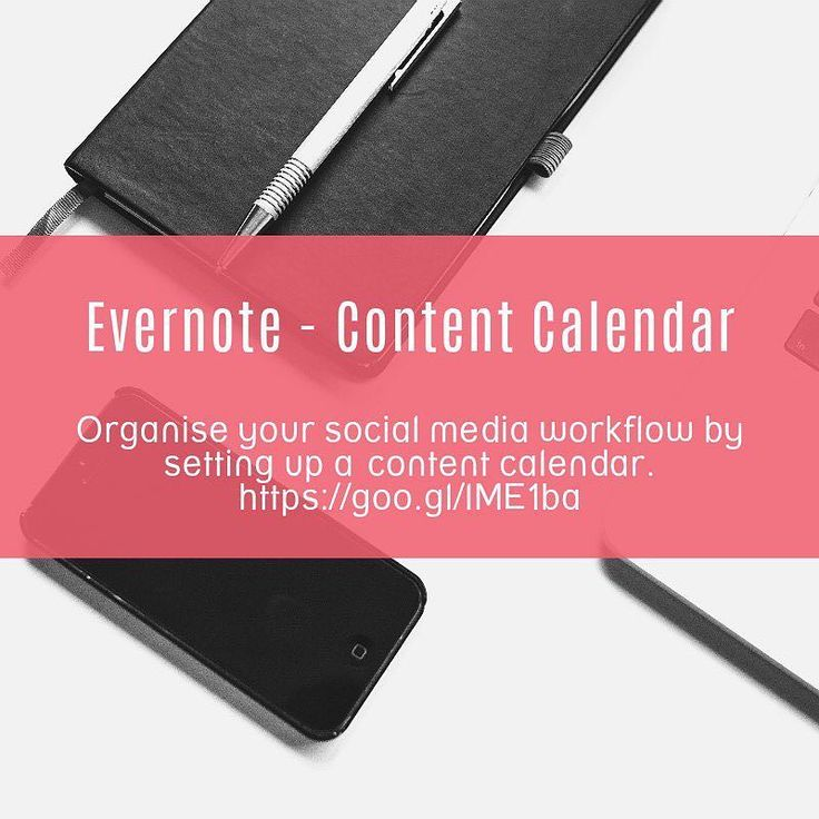 Are you wanting to organise your social media workflow by setting up a content calendar in Evernote?  http://buff.ly/2dEhGfn Here's a link that provides free Calendars Checklists and Note Links. . . . . #productivity #Evernote #organized