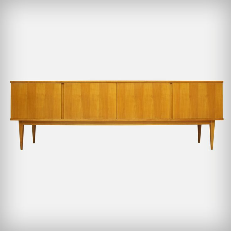 Ideal Cherrywood Sideboard from WK M bel Made in Germany MID CENTURY furniture art