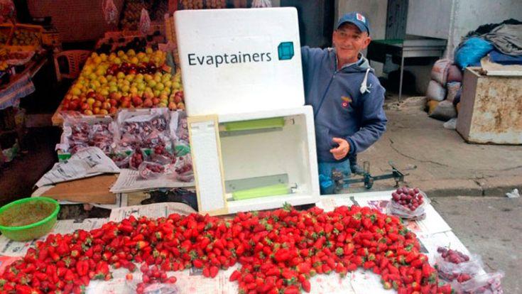 Основатели стартапа Evaptainer придумали холодильник, который позволяет на длительное время охлаждать продукты без использования электричества. Для этого ими была использована и усовершенствована технология, известная человечеству более 4 тыс. лет.