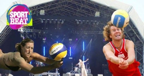 Who's this? GB Beach Volleyball players Denise Johns & Jody Gooding part of SportBeat Festival. Play VOLLEYBALL at the Festival and access all areas. info www.sportbeatfest.com