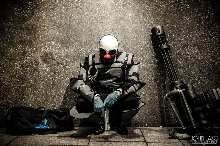 Payday 2 Wolf Cosplay